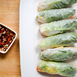 Korean Vietnamese Spring Rolls Recipe