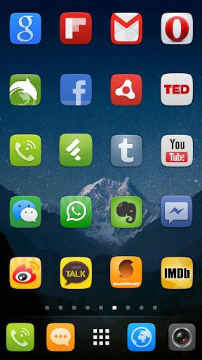 GO Launcher EX UI5.0 theme screenshot 6