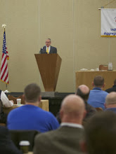 Photo: IMAA 2013 Board President, Kevin Sheehan of Hilltop Basic Resources during the General Session