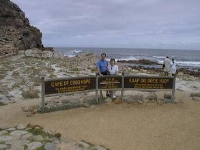 Photo: Ja se tyypillinen turistikuva Hyväntoivonniemeltä