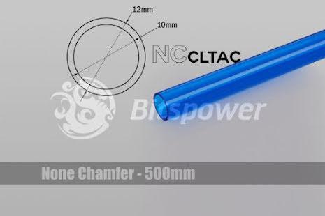 Bitspower Crystal Link Tube Ø10/Ø12mm, blå, 1 stk à 50cm