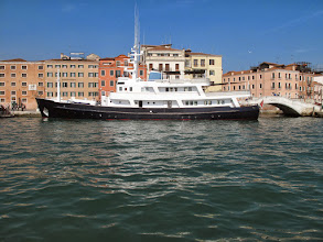 Photo: Eine solche Yacht mag ich lieber.