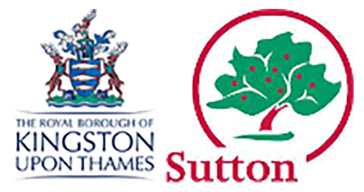 Kingston and Sutton London Borough Councils logo
