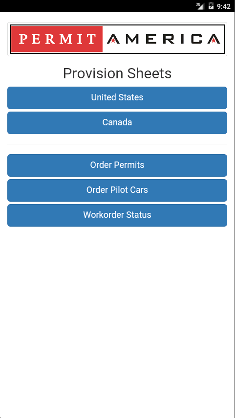 Permit America- screenshot