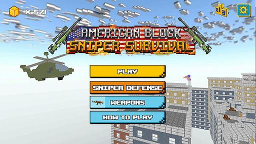 American Block Sniper Survival android2mod screenshots 5