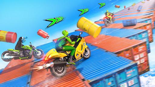 Superhero Bike Stunt GT Racing - Mega Ramp Games 1.3 screenshots 12