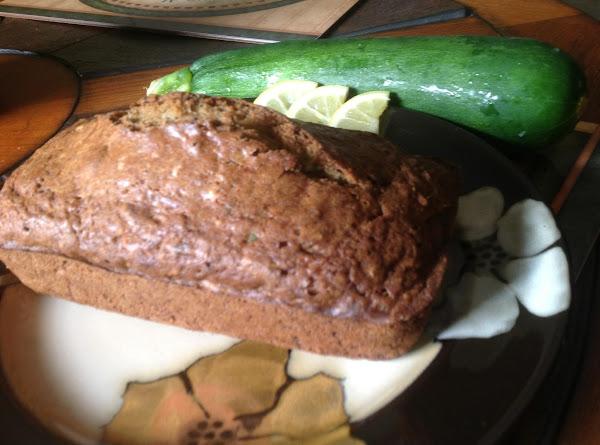 Zesty Zucchini Bread Recipe