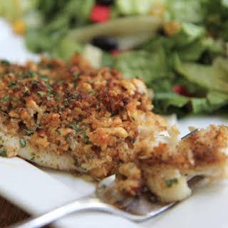 Bake Parmesan Tilapia.