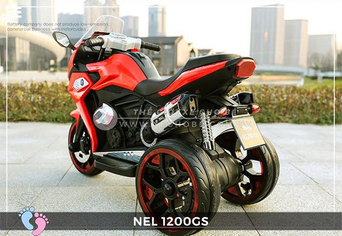 Moto điện 3 bánh cho bé NEL-1200GS 14
