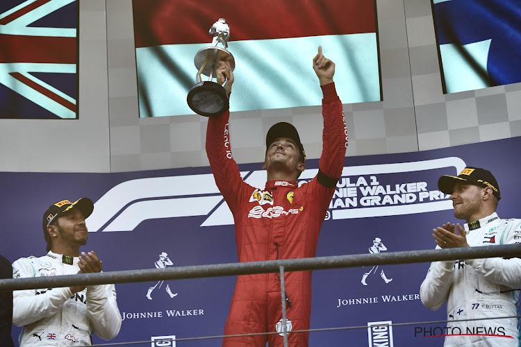 """Leclerc met gemengde gevoelens na historische zege: """"Mijn eerste race was zelfs met Anthoine"""""""