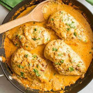 Creamy Chipotle Chicken.