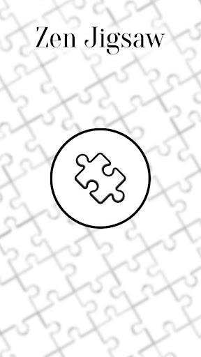 Zen Jigsaw - White Jigsaw Puzzle android2mod screenshots 1