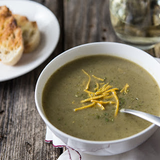 Hearty Broccoli Soup in an Instant (Pot).
