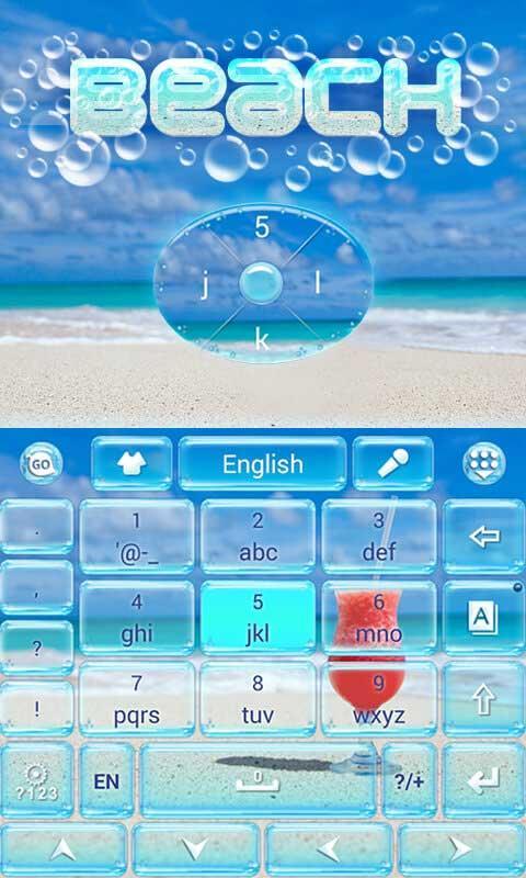Beach-GO-Keyboard-Theme 12
