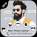 Man Photo Editor : Hairstyles, Beard & Mustache icon
