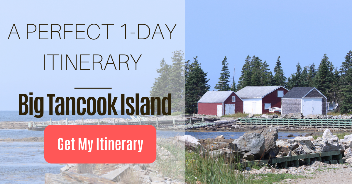 Big Tancook Island Itinerary