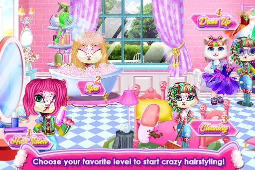 Fluffy Kitty Hair Salon Apk 2