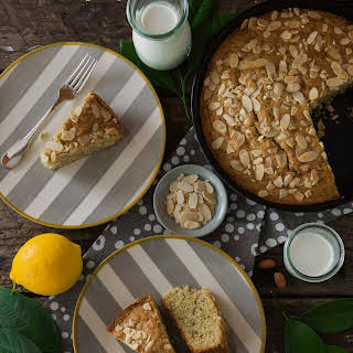 Gluten Free Lemon-Almond Olive Oil Cake.