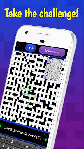 Code Triche The Big Crossword APK MOD screenshots 3