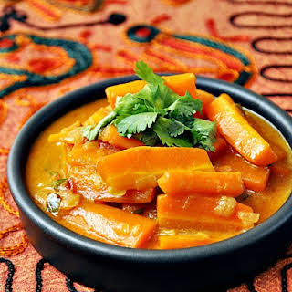 Spicy Carrot Coconut Curry.