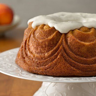 One-Bowl Peaches and Vanilla Bean Bundt Cake