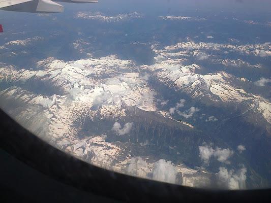 Montagne Austria  in aereo di archiviobesozzi
