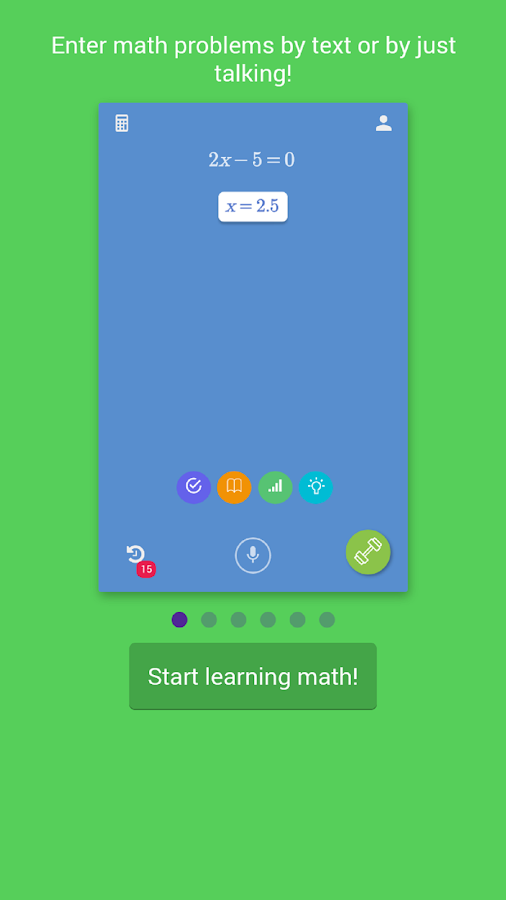 OneSecondSolver: Math Solver- screenshot
