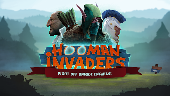 Hooman Invaders Tower Defense - náhled