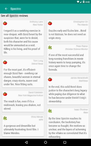 Movie & TV Listings – Recommendations & Reviews v1.9 screenshots 13