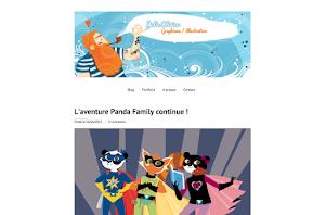 création de site internet réalisée par julie-olivier