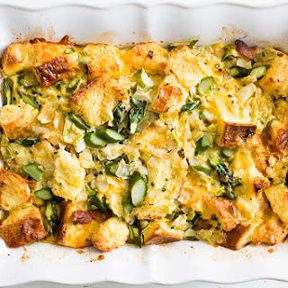 Asparagus Artichoke Breakfast Casserole
