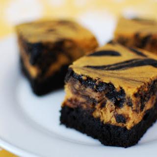 Pumpkin Spice Cheesecake Brownies.