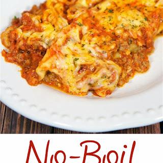 No-Boil Manicotti