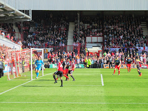 Photo: 03/05/14 v Stevenage (Football League Division One) 2-0 - contributed by Pete Collins