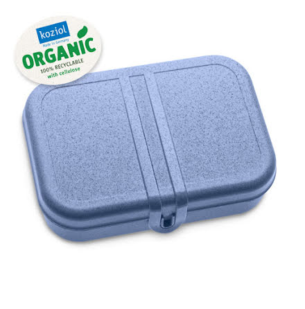 PASCAL L, Lunchlåda / Lunchbox Organic Blue 2-pack