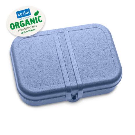 PASCAL L, Lunchlåda / Lunchbox Organic Blue 2-pack