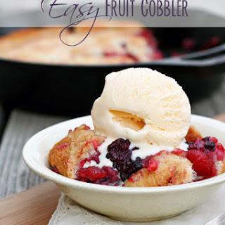 Flour Sugar Milk Fruit Cobbler Recipes