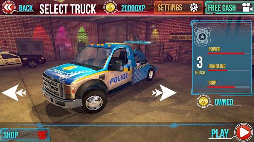 Police Tow Truck Driving Car Transporter 1.5 Screenshots 5