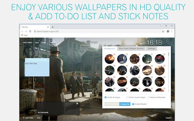 Mafia Wallpaper HD Mafia Trilogy Remaster New Tab