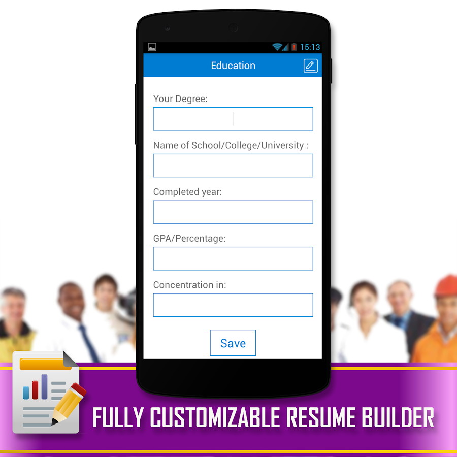 Resume builder android apps on google play for Best resume builder app free