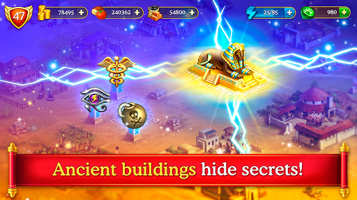 Cradle of Empires Match-3 Game 6.4.0 screenshots 4