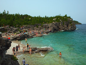 Photo: Indian Cove at Bruce National Park