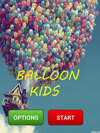氣球粉碎機孩子們的遊戲
