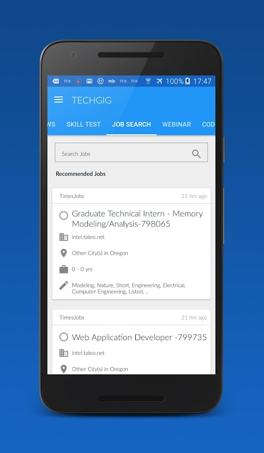 TechGig Technology Community- screenshot