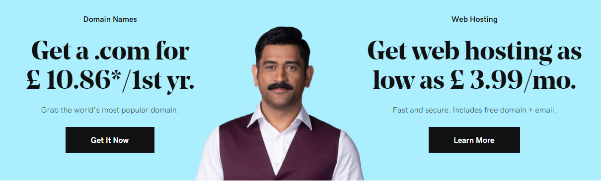 godaddy hosting in india