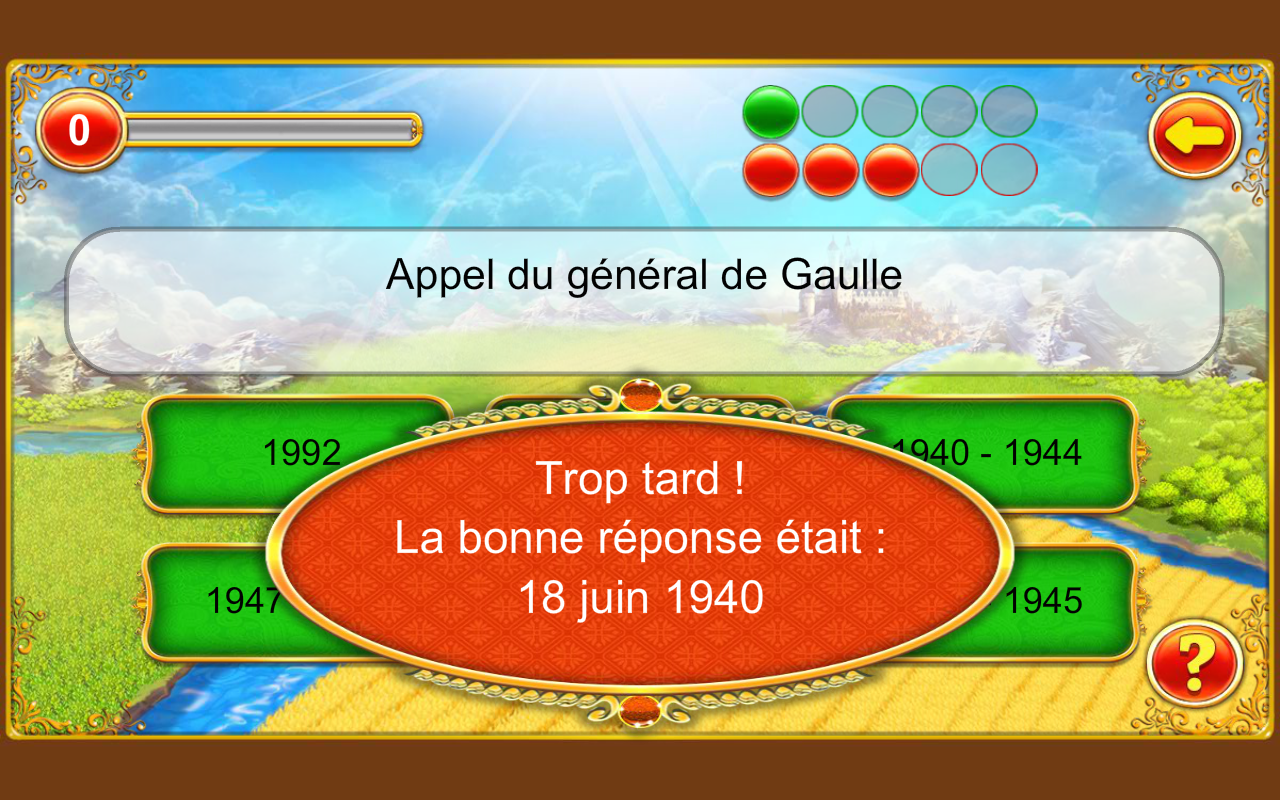 Chrono Quiz - V. Gratuite- screenshot