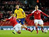 La Suède battue par le Danemark