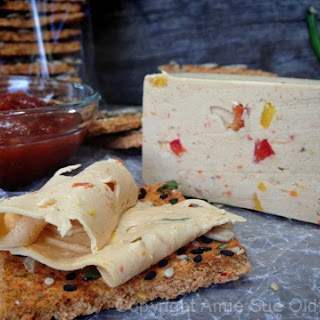 Vegan Pepper Jack Cheese