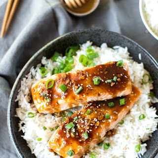 Asian Honey Glazed Salmon