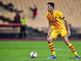 Sergio Busquets de retour avec l'Espagne